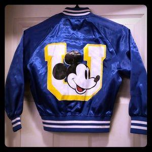 ☆Rare☆ Vintage 80s Mickey varsity jacket